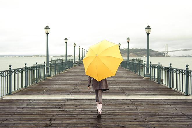 как отмыть зонт