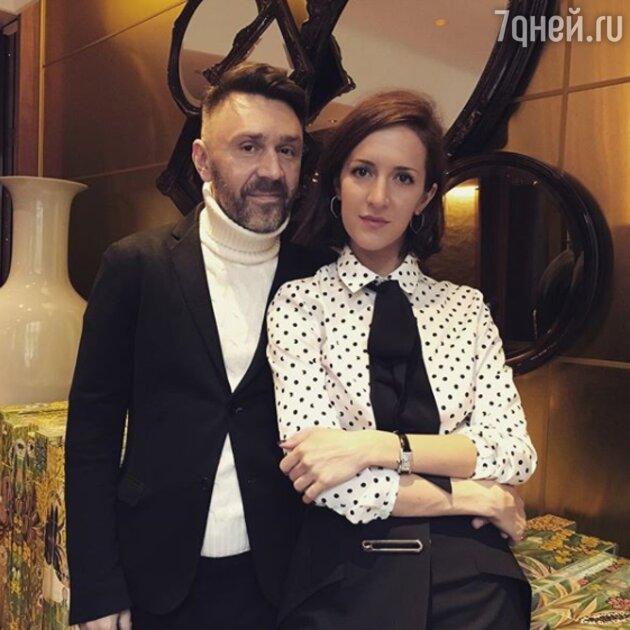Сергей Шнуров с бывшей женой Матильдой