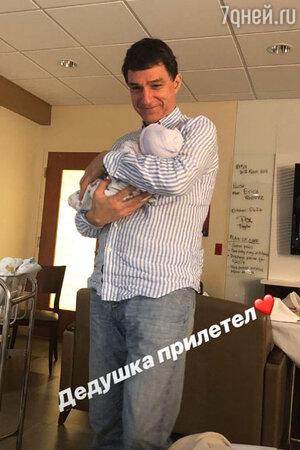 Кирилл Шубской с внуком Сергеем