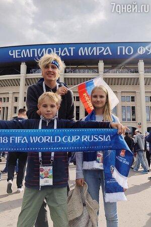 Дети Натальи Водяновой