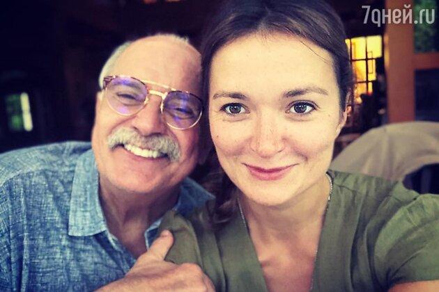 Никита Михалков с дочкой Надеждой