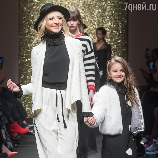 Кристина Орбакайте с дочкой Клавдией