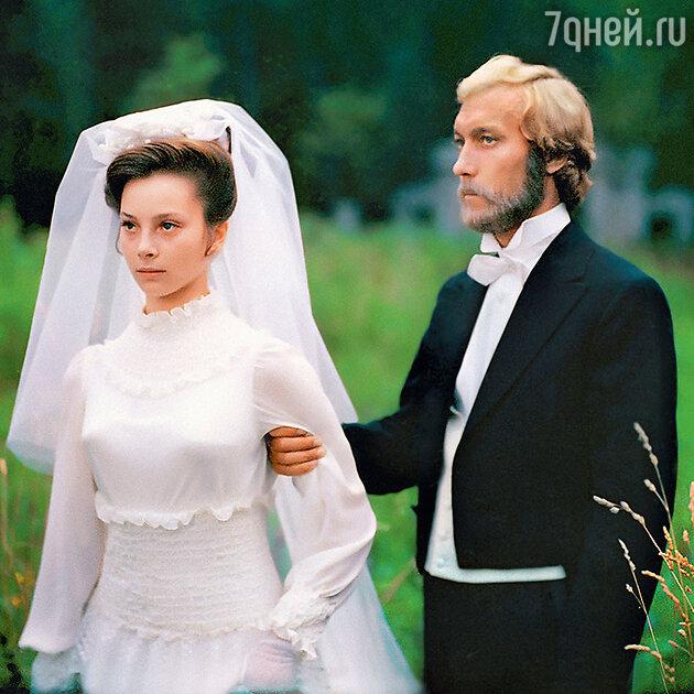 Олег Янковский с Галиной Беляевой