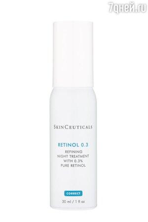 Высокоэффективный ночной крем-уходRETINOL 0.3%, SkinCeuticals