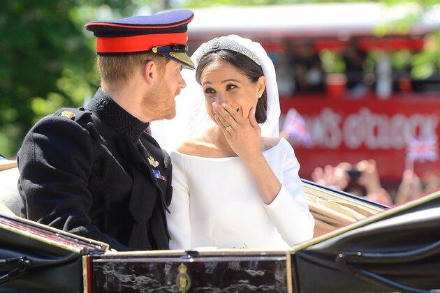 Стало известно, как принц Гарри отреагировал на свадебный макияж Меган Маркл