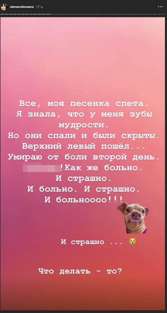 Фото: instagram.com/alenavodonaeva