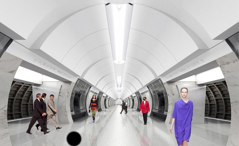 "Станция ""Савеловская"". Фото: Stroi.mos,ru"